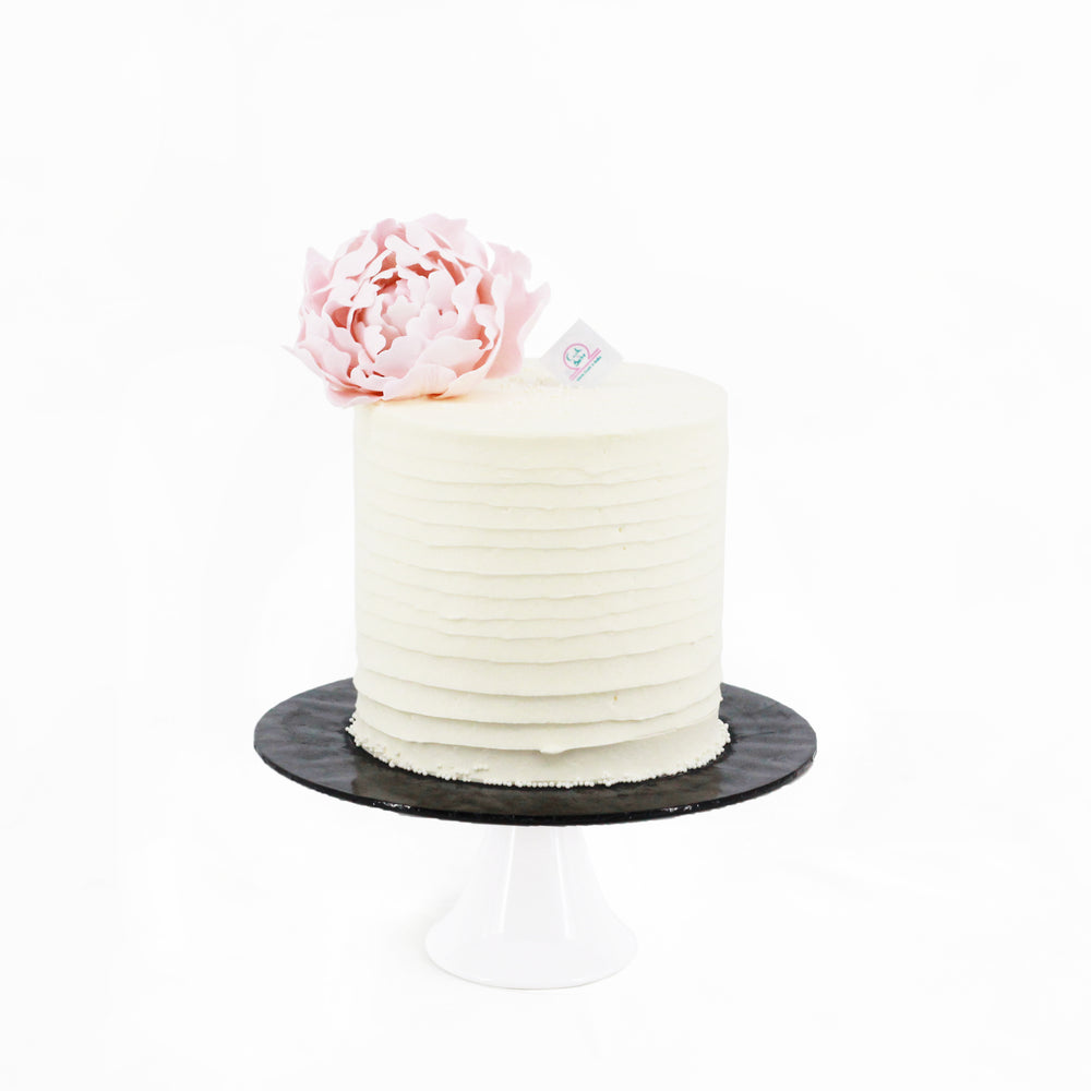 Elegant Peony Cake 5 inch - Cake Together - Online Birthday Cake Delivery