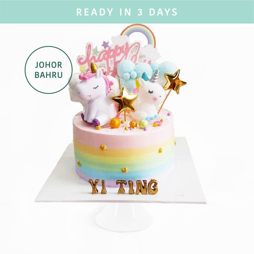 Rainbow Unicorn Cake - Cake Together - Online Birthday Cake Delivery