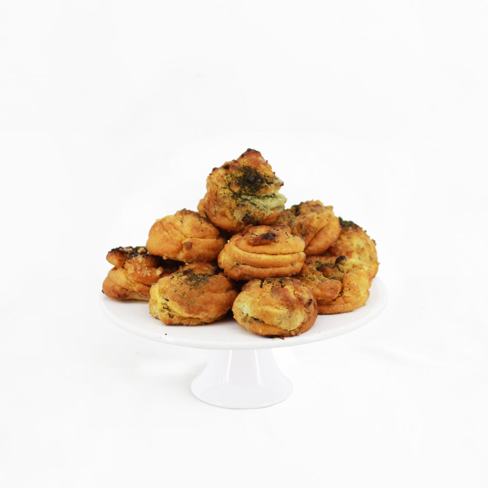 Matcha Cream Puffs 24 pieces | Cake Together | Online Delivery