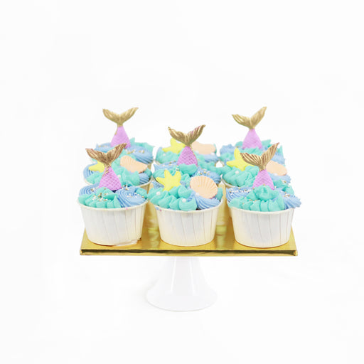 Mermaid Cupcakes | Cake Together | Online Cake Delivery