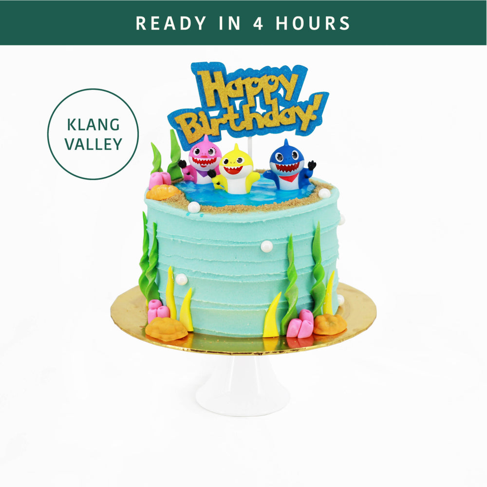 Baby Shark Party | Cake Together | Online Birthday Cake Delivery