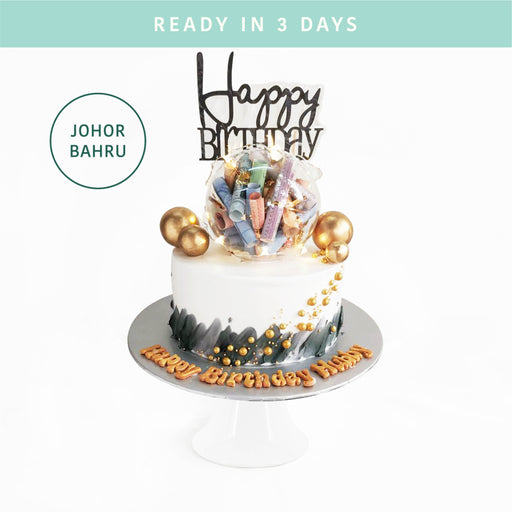 Crystal Ball Money Cake - Cake Together - Online Birthday Cake Delivery