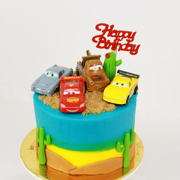 Cars Cake 6 inch | Designer Cake | Cake Together