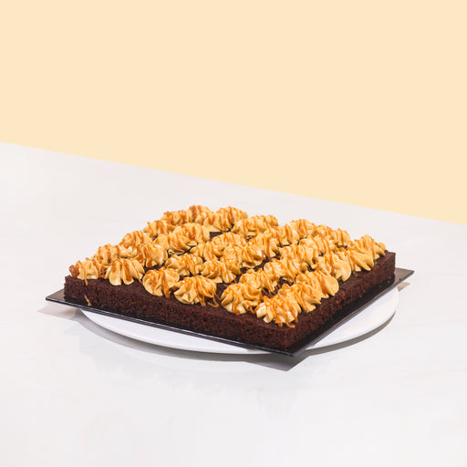 Chocolate Salted Caramel Bites 9 inch