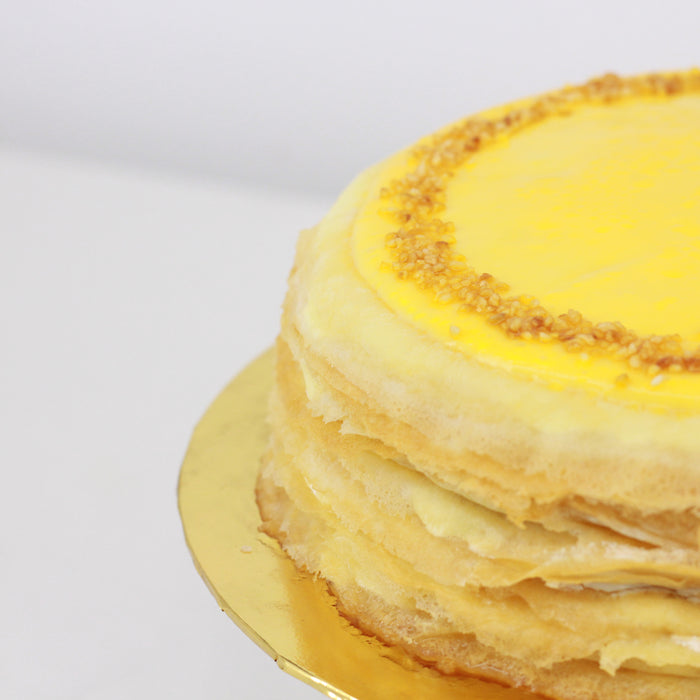 Durian D24 Mille Crepe 8 inch | Cake Together | Online Delivery