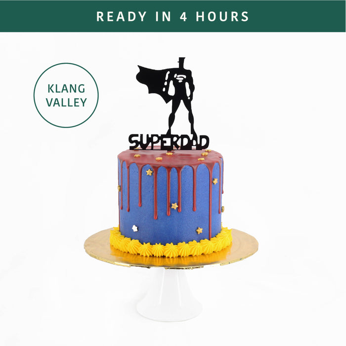 Super Daddy | Cake Together | Online Birthday Cake Delivery
