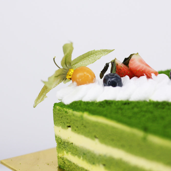 Green Tea Sponge - Cake Together - Online Birthday Cake Delivery
