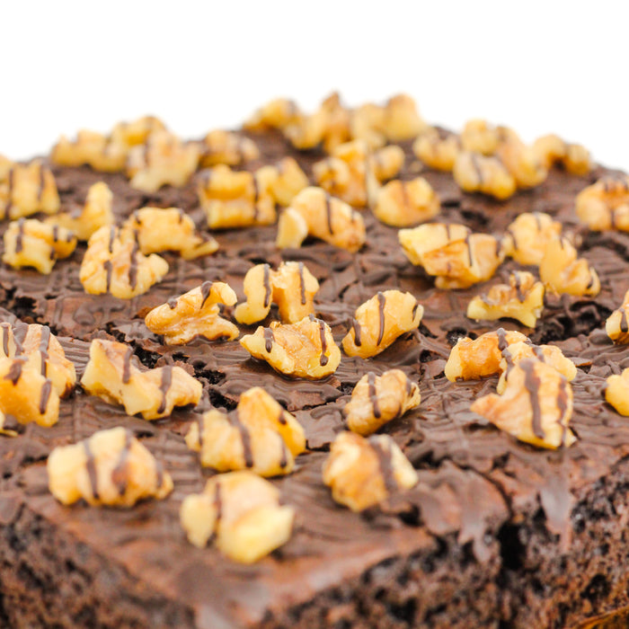 Walnut Brownies 8 inch - Cake Together - Online Birthday Cake Delivery
