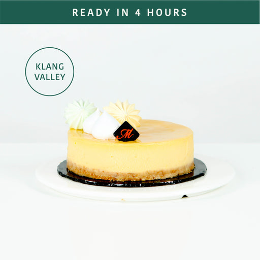 Durian Cheesecake 5 inch - Cake Together - Online Birthday Cake Delivery
