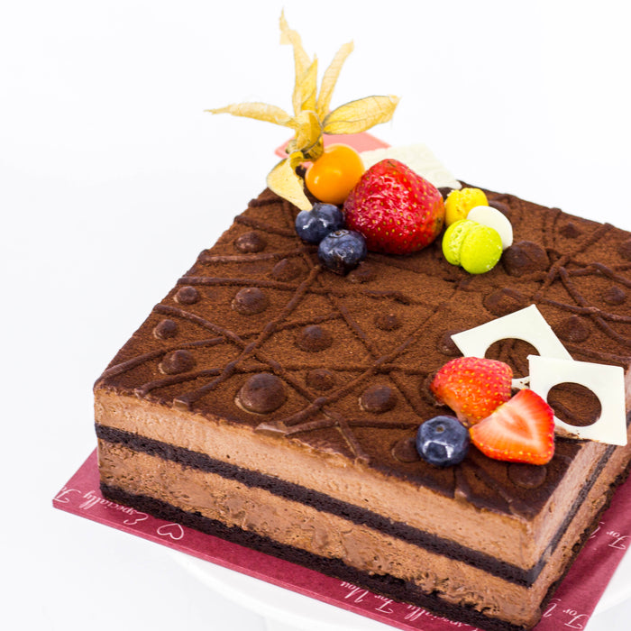 Chocolate Mousse 20cm - Cake Together - Online Birthday Cake Delivery