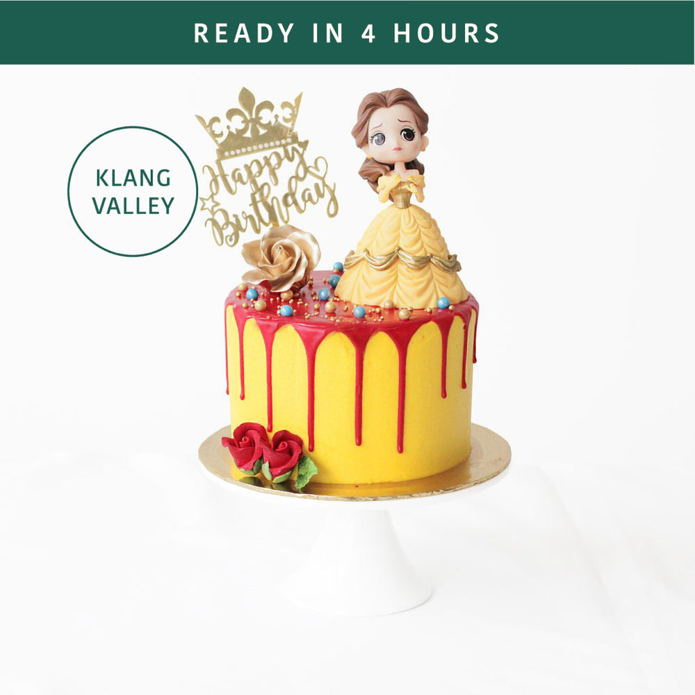 Beauty and the Beast - Cake Together - Online Birthday Cake Delivery