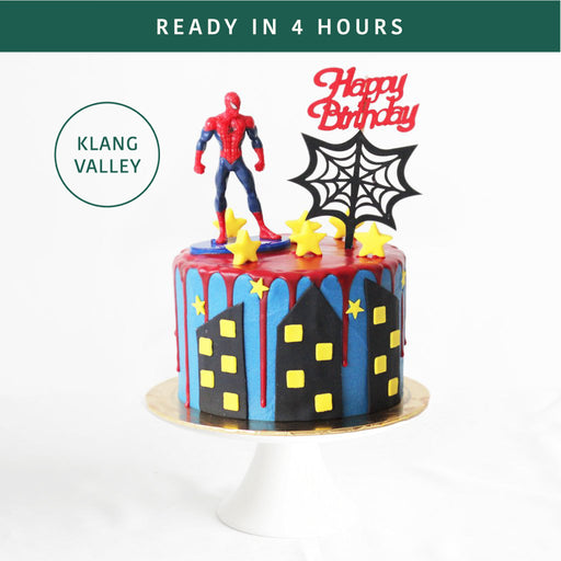 Spiderman Cake 6 inch