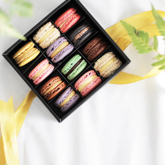 Macaron Box 12pcs | Cake Together | Online Birthday Cake Delivery