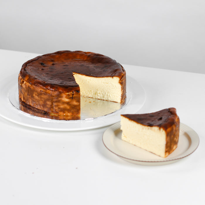 Burnt Cheesecake 8 inch - Cake Together - Online Birthday Cake Delivery
