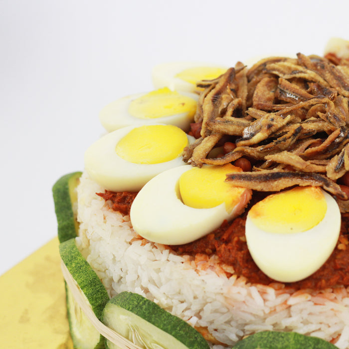 Nasi Lemak Cake 8 inch | Cake Together | Online Cake Delivery