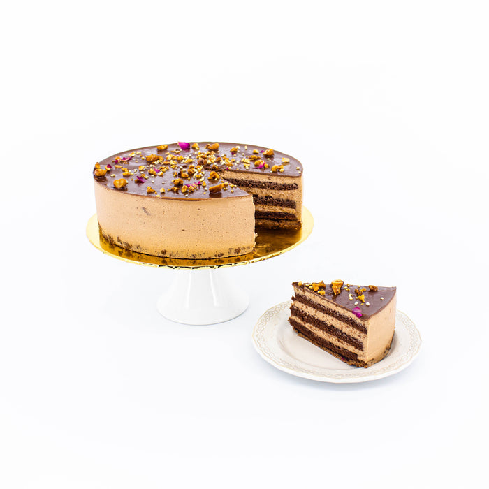 Absolute Chocolate Hazelnut Crunch - Cake Together - Online Birthday Cake Delivery