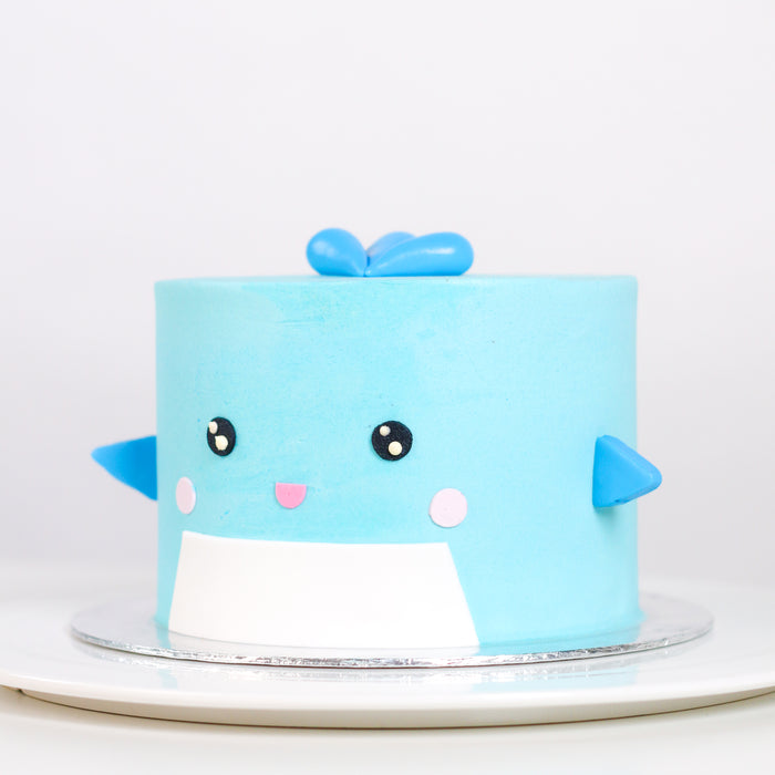 My Blue Whale 5.5 inch - Cake Together - Online Birthday Cake Delivery