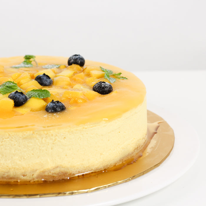 Mango Tango Cheese 8 inch - Cake Together - Online Birthday Cake Delivery