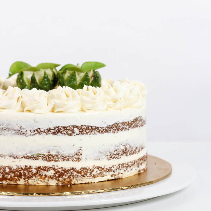 Kaffir Lime Coconut Cake 8 inch - Cake Together - Online Birthday Cake Delivery