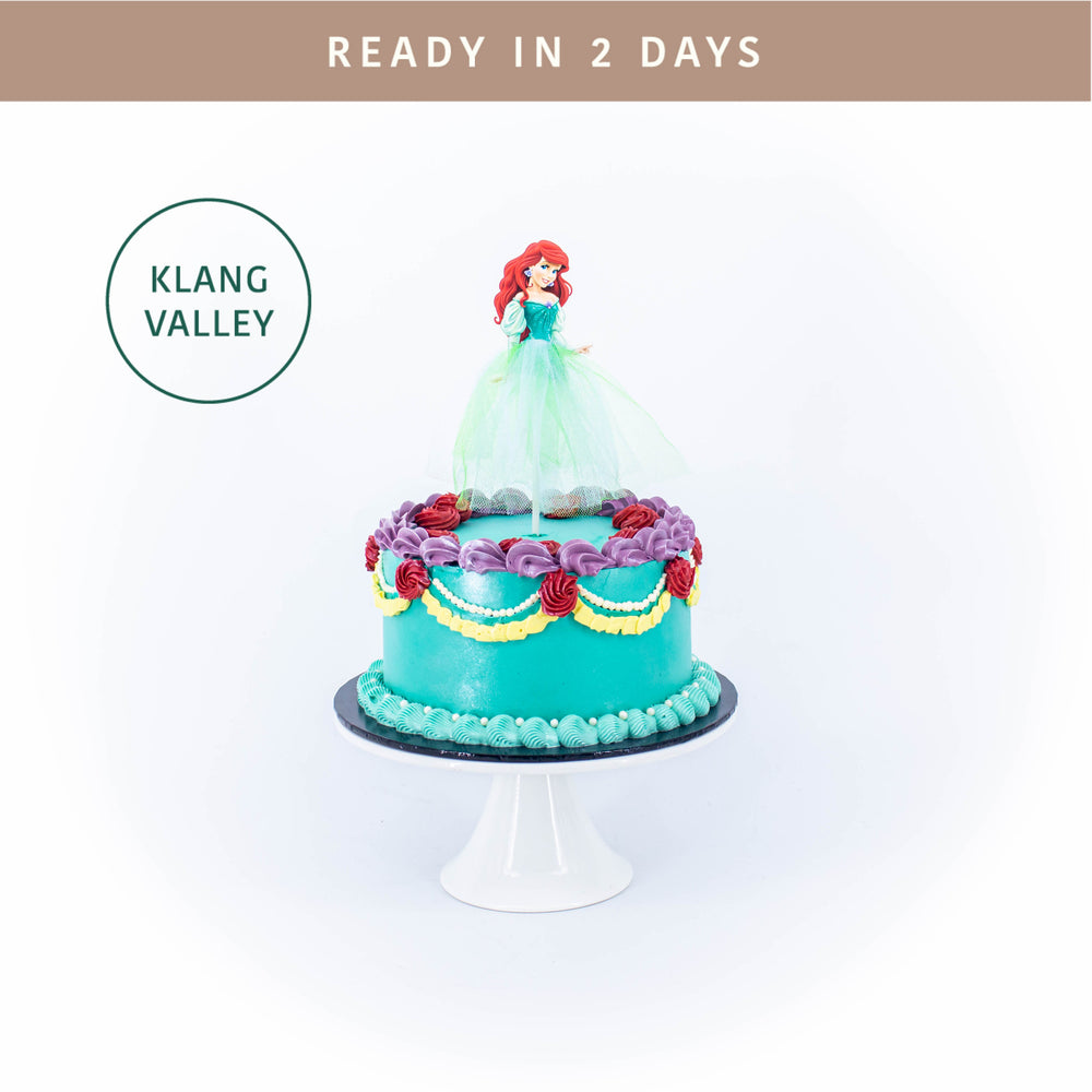 Ariel 6 inch - Cake Together - Online Birthday Cake Delivery