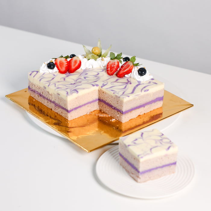 Taro Cake - Cake Together - Online Birthday Cake Delivery