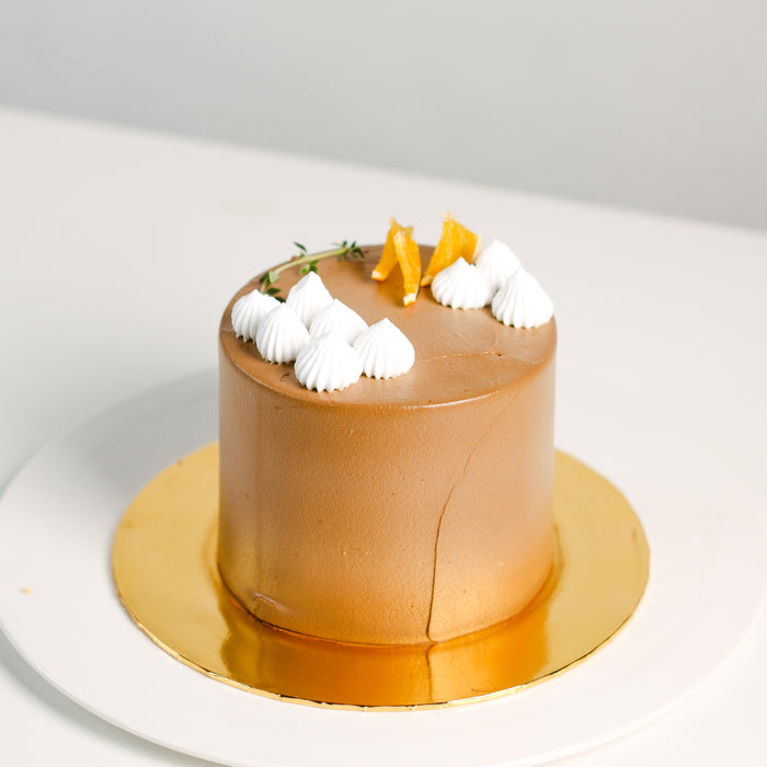 Dark Chocolate Hazelnut 5 inch - Cake Together - Online Birthday Cake Delivery