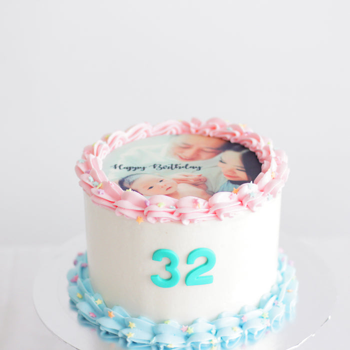 Edible Image Cake - Cake Together - Online Birthday Cake Delivery