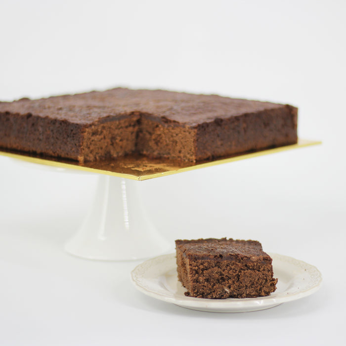 Awesome Gluten Free Caramella Brownie 9 Inch Birthday Cake Delivery Personalised Birthday Cards Paralily Jamesorg