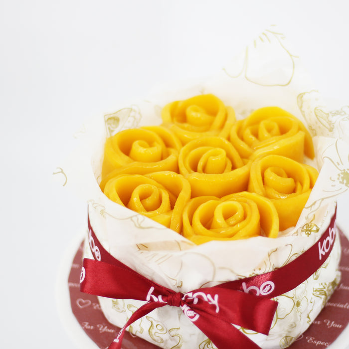 Mango Rose Cake | Cake Together | Online Birthday Cake Delivery