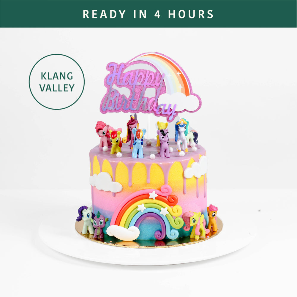 My Little Pony Cake - Cake Together - Online Birthday Cake Delivery