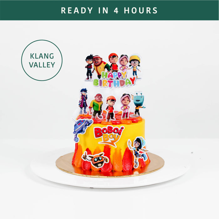 BoBoiBoy 5 inch - Cake Together - Online Birthday Cake Delivery