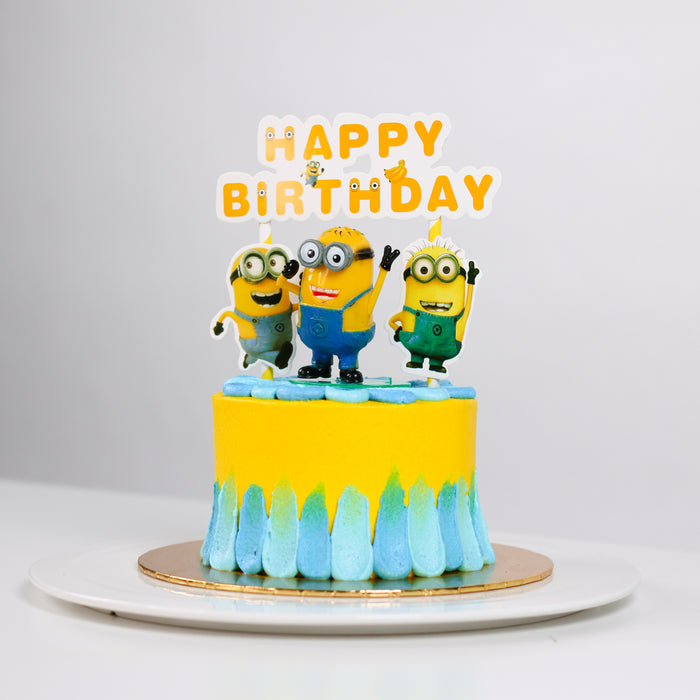 Minions Bananas 5 inch - Cake Together - Online Birthday Cake Delivery