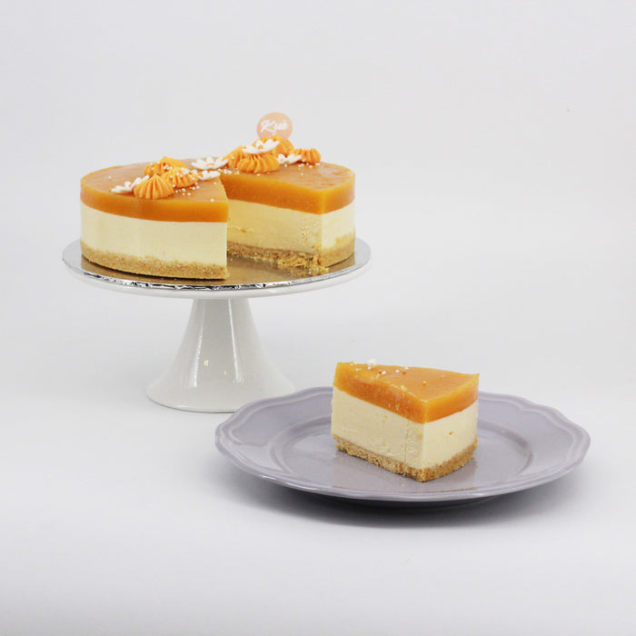 Mango Cheesecake 7 inch - Cake Together - Online Birthday Cake Delivery
