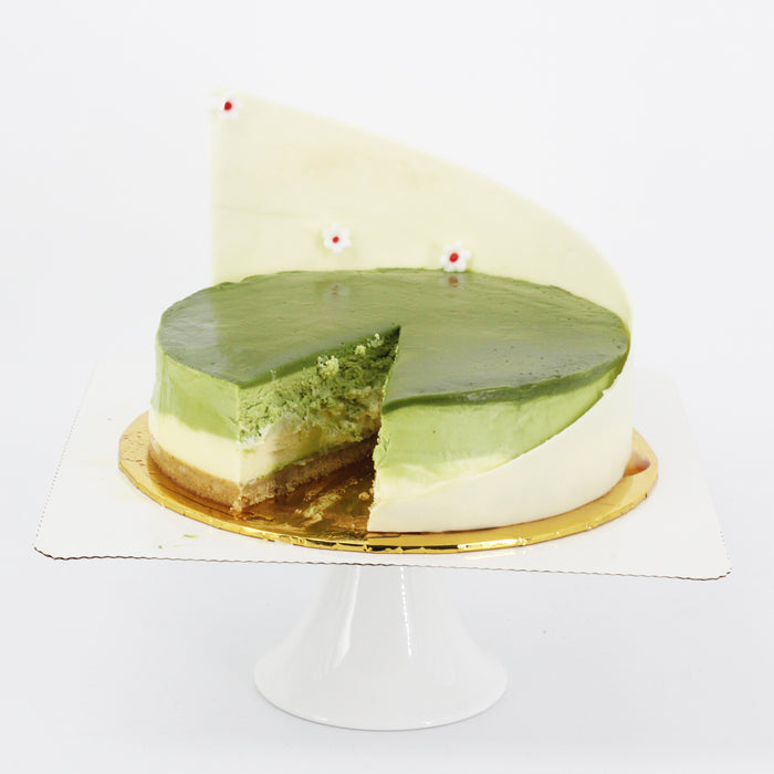 Matcha Cheese Cake | Cake Together | Online Birthday Cake Delivery