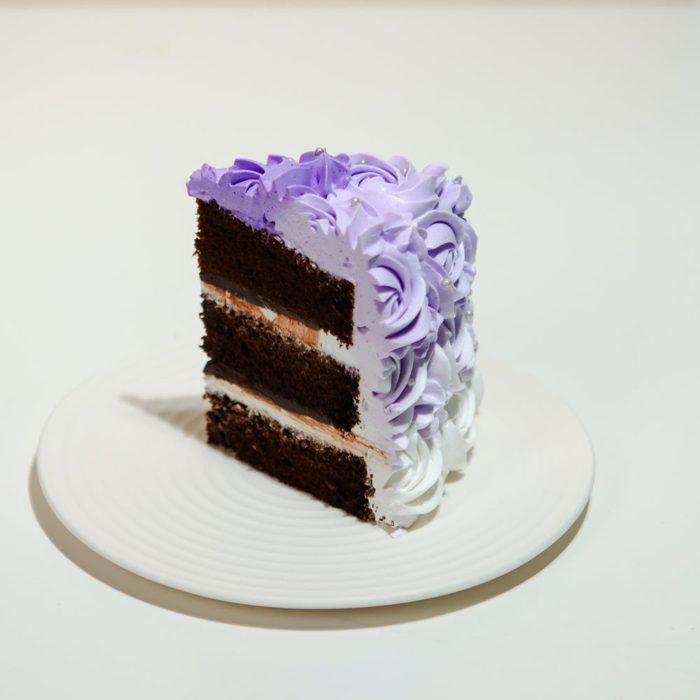 Butterfly Pea Chiffon 8 inch - Cake Together - Online Birthday Cake Delivery