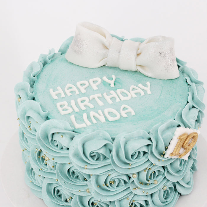 Sweet Rosette Cake | Cake Together | Online Birthday Cake Delivery
