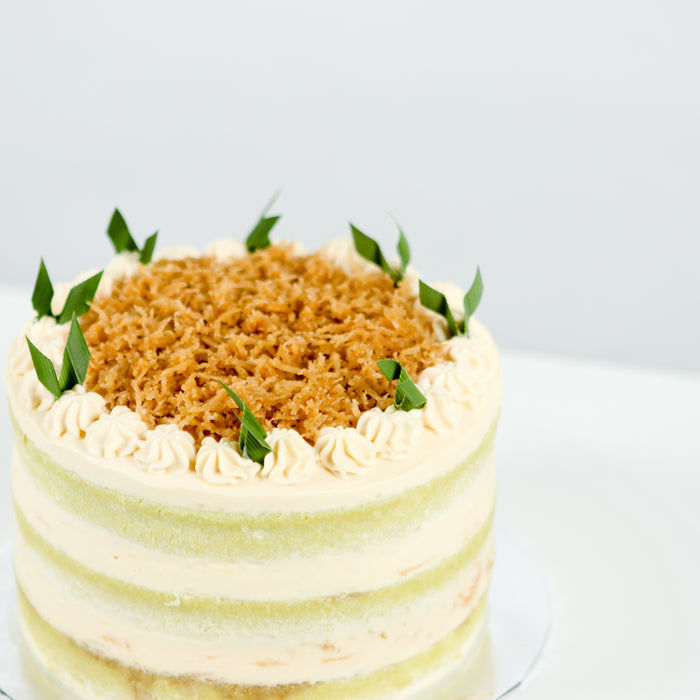 Pandan Coconut Delight Cake - Cake Together - Online Birthday Cake Delivery