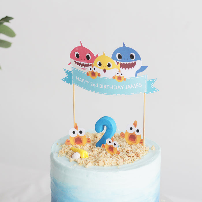 Incredible Baby Shark Cake Cake Together Online Birthday Cake Delivery Birthday Cards Printable Giouspongecafe Filternl