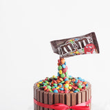 Kitkat M&M Gravity Defying Cake