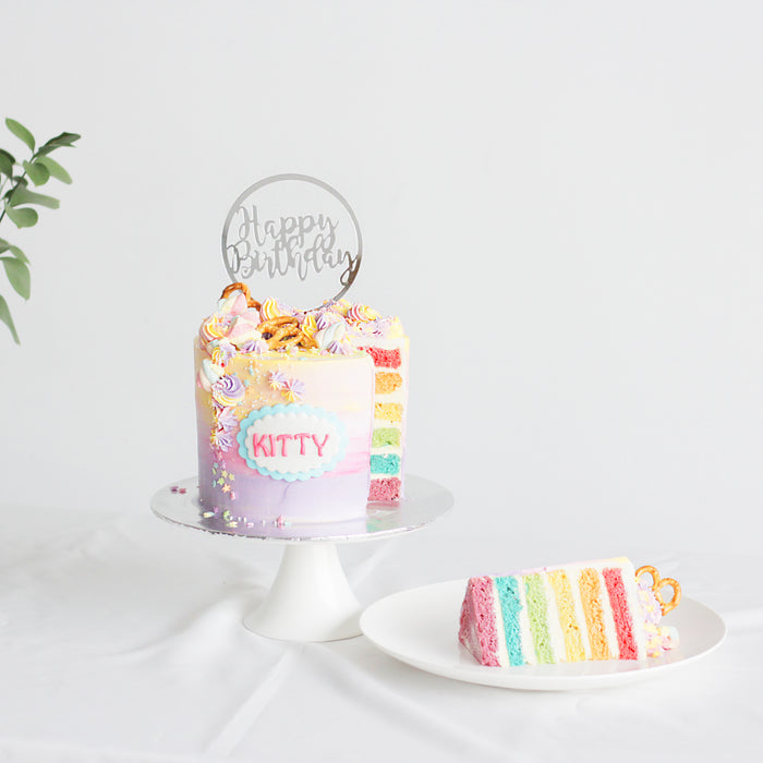 Rainbow Cake | Cake Together | Online Cake Delivery