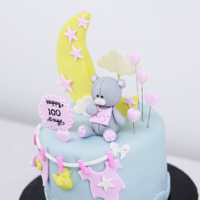Moon and Bear 5 inch | Cake Together | Online Cake Delivery