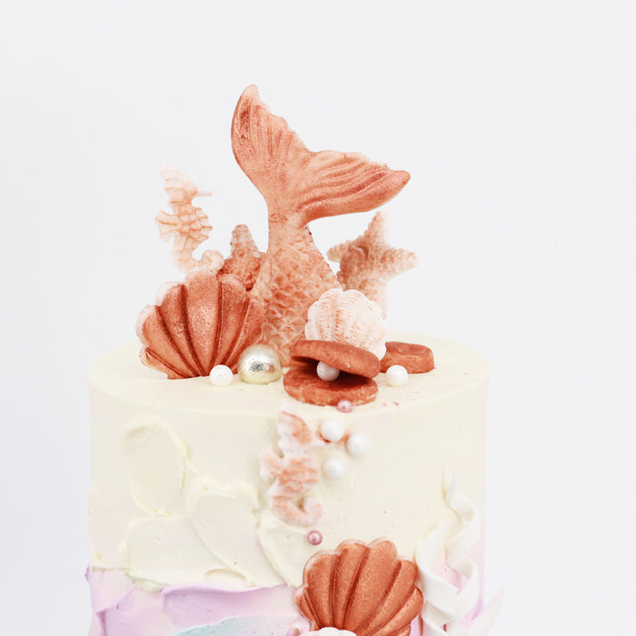 Rosey Mermaid 5 inch - Cake Together - Online Birthday Cake Delivery