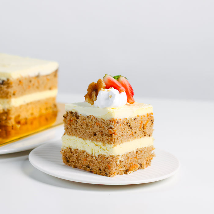 Walnut Carrot Cake - Cake Together - Online Birthday Cake Delivery
