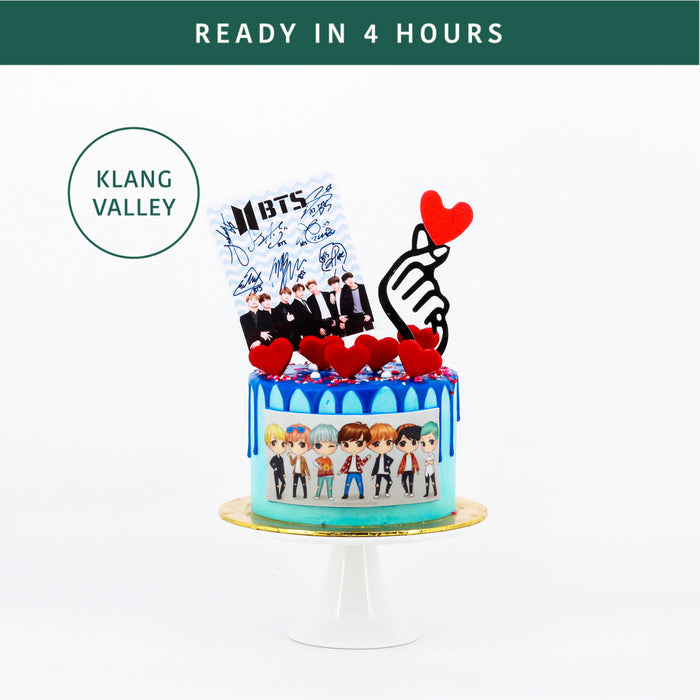 BTS Love Cake - Cake Together - Online Birthday Cake Delivery