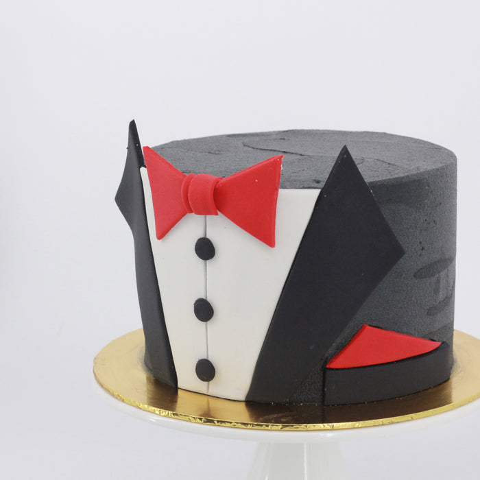 Tuxedo Cake | Cake Together | Online Birthday Cake Delivery