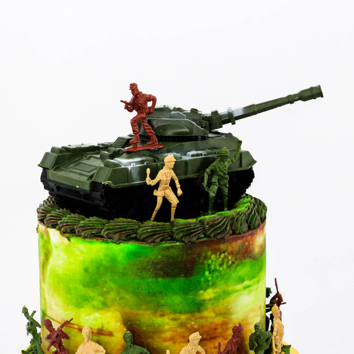 Army Tanker Cake - Cake Together - Online Birthday Cake Delivery