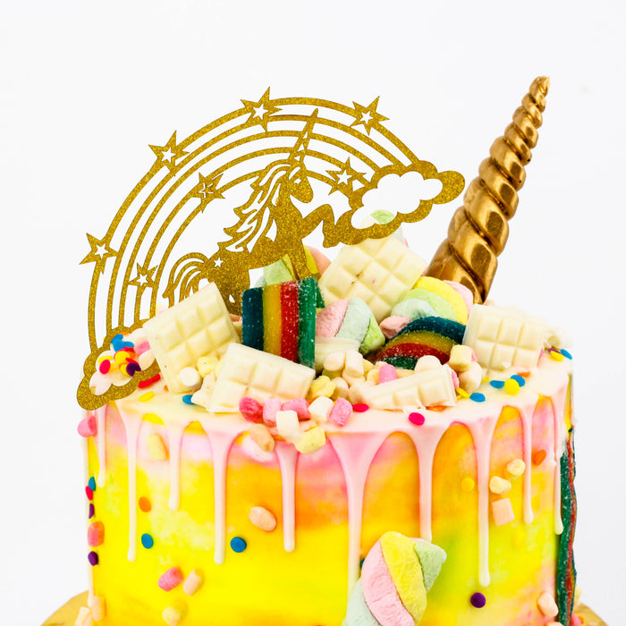 Rainbow Unicorn Cake | Cake Together | Online Birthday Cake Delivery