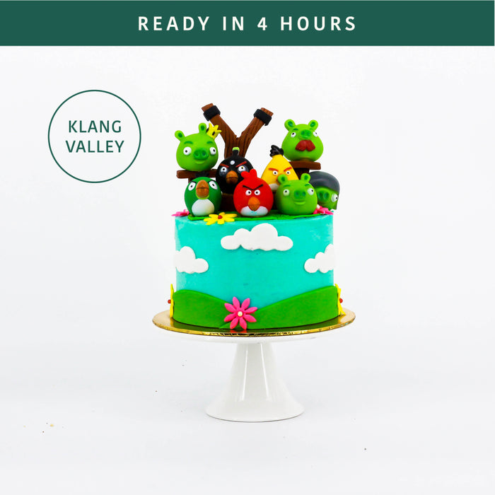 Angry Birds Cake - Cake Together - Online Birthday Cake Delivery