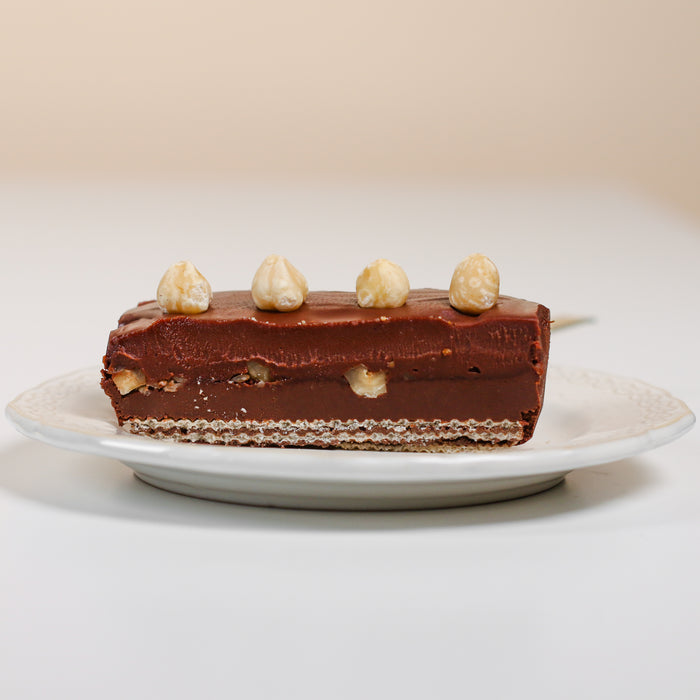 Chocolate Hazelnut Bar 8 inch - Cake Together - Online Birthday Cake Delivery