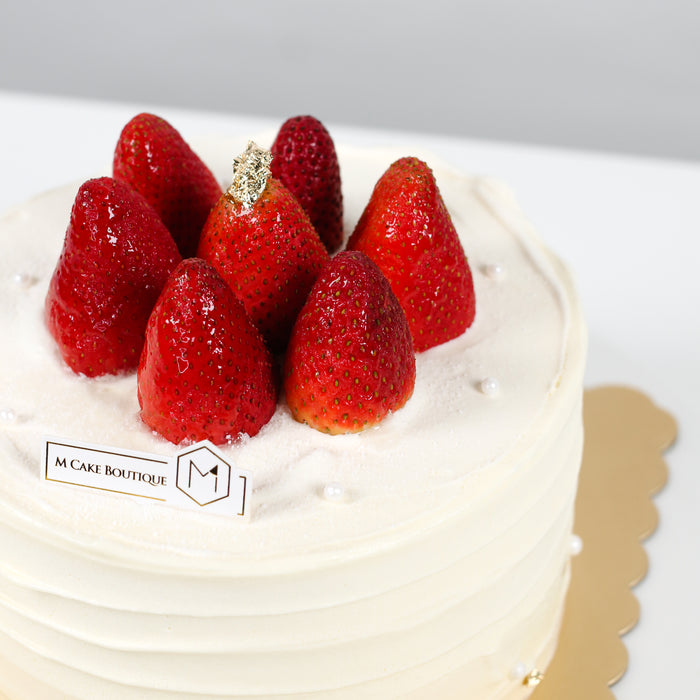 Strawberry Shortcake 6 inch - Cake Together - Online Birthday Cake Delivery